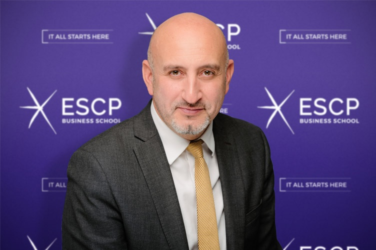 Prof. Simon Mercado, Dean of ESCP Business School London Campus