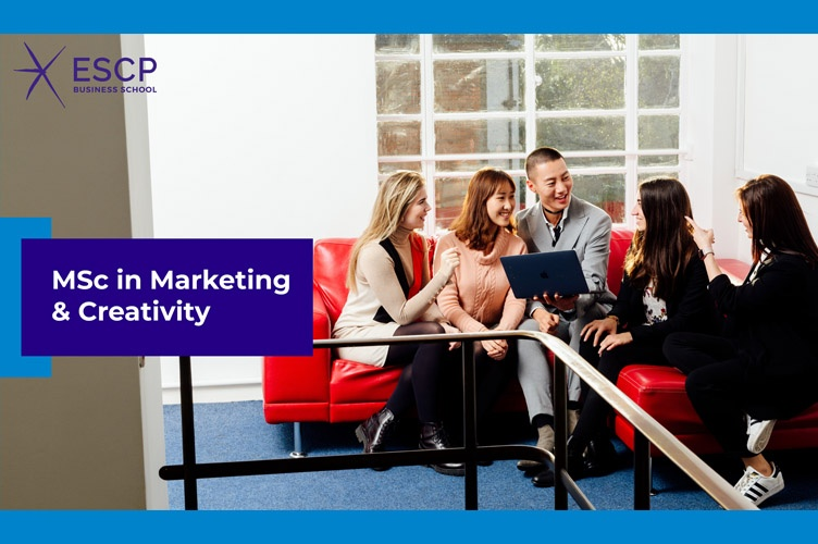 Webinar: ESCP MSc in Marketing & Creativity