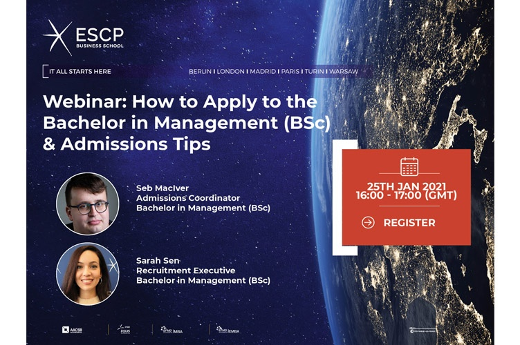 Admission Tips: How to apply to the BSc in Management at ESCP Business School