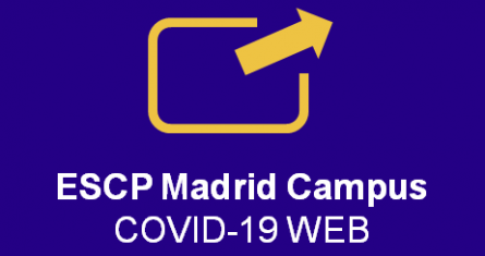 ESCP Madrid campus COVID-19 Web