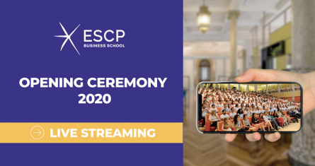 ESCP Turin Opening ceremony