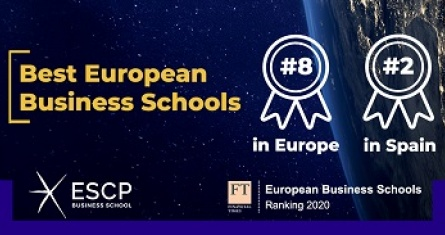 ESCP Business School #2 en España en el ranking de European Business Schools de FT
