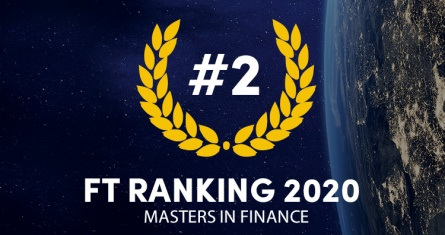 The ESCP Business School Advanced Master in Finance ranks 2nd worldwide in Financial Times rankings